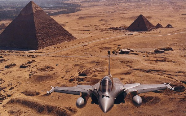 A Rafale jet fighter