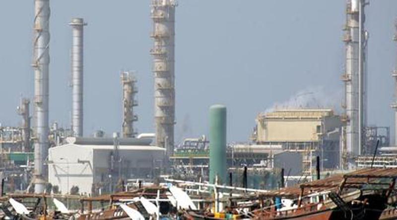 A crude oil pipeline linking Saudi Arabia and Bahrain | The Middle